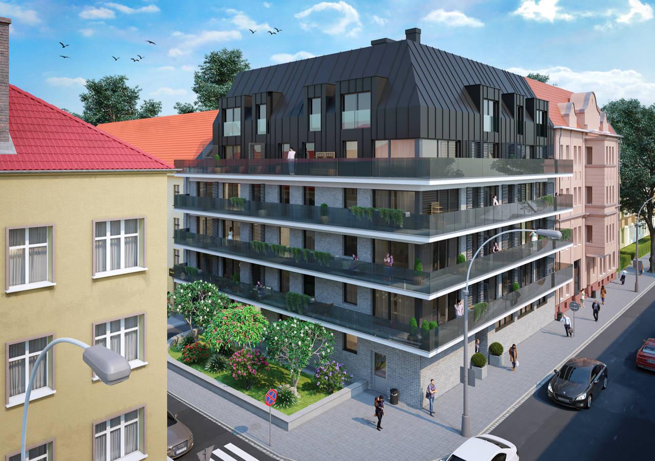 Nowe apartamenty w Opolu, ul. 1 Maja