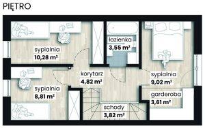 Apartamenty Nad Rzeką - piętro