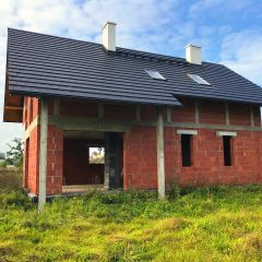 Nowy dom z garażem w dzielnicy Opole-Malina