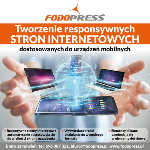 FODOPRESS Opole Strony www Sklepy internetowe pozycjonowanie SEO