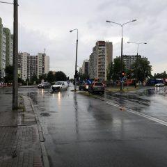 Połączenie ulic Koszyka i Wrocławskiej