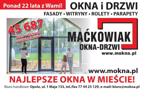 Maćkowiak - najlepsze okna w mieście