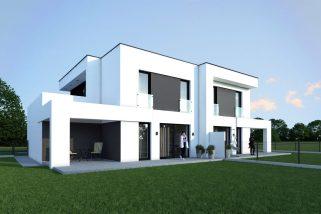 Dom w zabudowie bliźniaczej