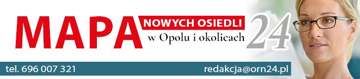 Mapa nowych osiedli w Opolu i okolicach